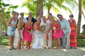 Jamie Zelechowski's wedding in Jamaica