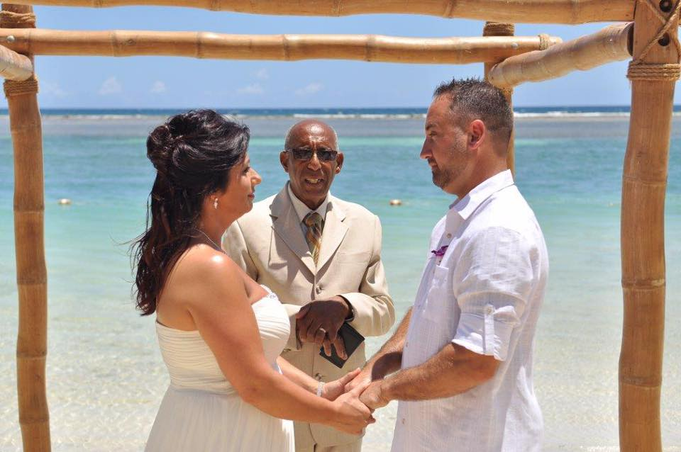 Destination wedding success stories first choice travel for Royal caribbean cruise wedding
