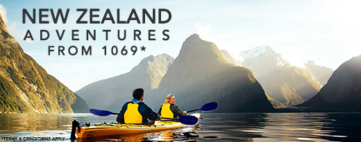 Are you ready for a New Zealand Adventure?