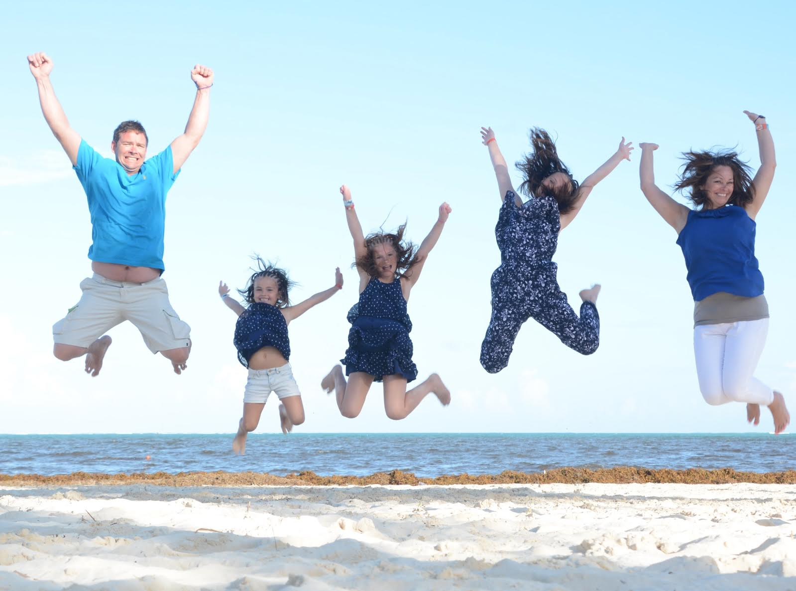 Want your family to JUMP FOR JOY? Take them on Vacation!
