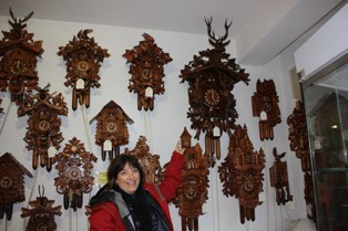 The Black Forest and all these amazing clocks!