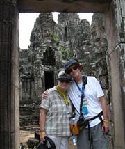 Baders loved their trip to Cambodia!