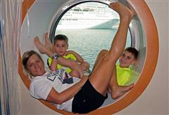 Love this port hole picture Shelly Basso and family!