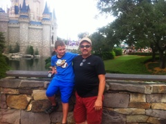 Boys at the castle!