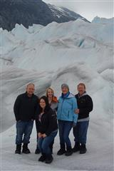 One of the Weber Family highlights was walking on a Glaciers