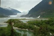 The scenery in Alaska is amazing and breathtaking!
