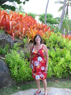 Kaui is the island of flowers!  Floral and Fauna!