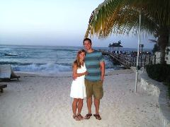 Amanda and Dan enjoyed the Sandals Grande Resort in Jamaica!