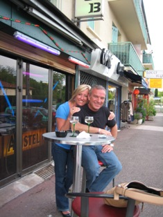 Keith and Stacy Peterson on a trip to France, Italy and Switzerland!