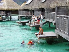 We had enough over water bungalows all over the property