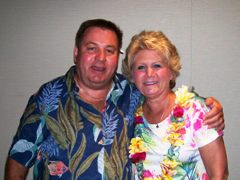 CHERI AND JIM CELEBRATE BIG IN TAHITI!