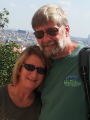 Rick and Lori in Prague