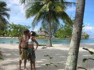 Honeymoon couple loved Tahiti so much she cried she didn't want to go home!