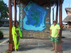 Donal and Kelly loved their honeymoon in Tahiti!