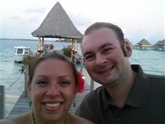 Jennifer and Kurt Snyder's Honeymoon at the Intercontinental Le Moana in Bora Bora