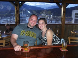 Gina and Brett St John on an ALASKAN cruise!