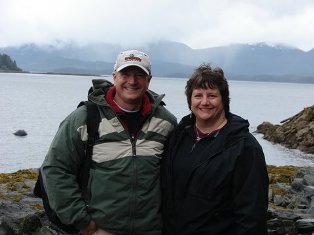 Kerry and Jeff Luecht in Alaska!