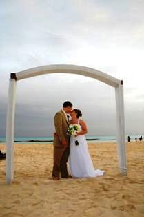 Andy and Megan Young's wedding at Sandos Caracol was amazing!