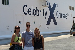 Cruise the med on Celebrity like this family did!