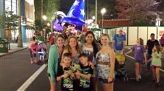 Hamer Family at DisneyWorld!