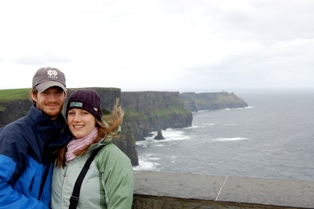 Margaret and Justin Rooney Honeymoon in Ireland