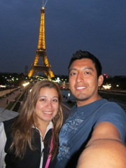 Jessica and Jesus Honeymooning in Europe