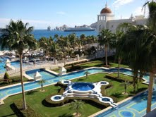 Riu Palace in Cabo compliments of Terry and Steve Visocky