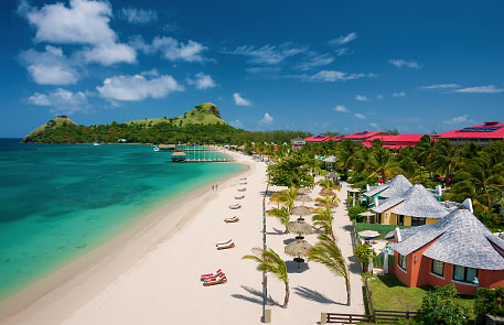 St Lucia is a wonderful romantic  location for weddings and honeymoons!