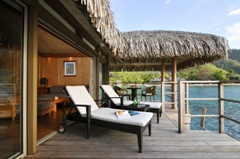 Intercontinental Moorea bungalow