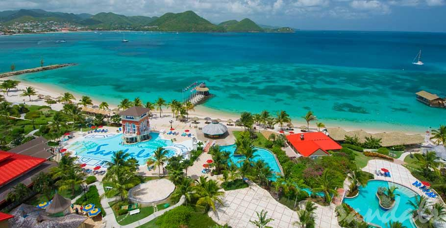 Sandal Antigua and many other resorts in the Sandals / Beaches Family!