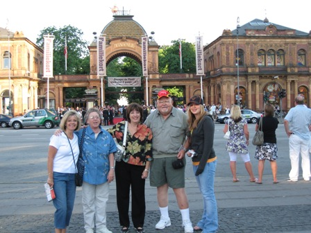 Betty Ewald, Audrey Lehner, Gayle Zielke, Andy Lehner and Aubrieanna Swartz (Lehner's lucky granddaughter got to go to Copenhagen.