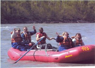 River Rafting in Alaska!