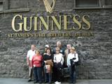 Everyone has to stop in at the Guinness tour.