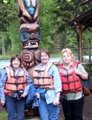 First Choice Travel Alaska Specialists experience the Totems in Ketchikan