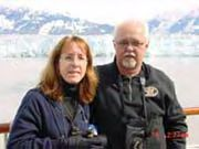 Margo and Rick loved their trip to ALASKA, it was on Rick's bucket list!