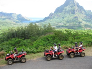 ATV trips are so much fun when you are in Paradise!