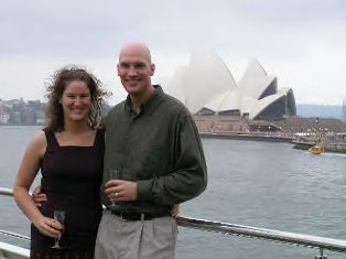 Scott Berwanger and Karen Strabel in Australia