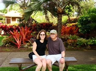 Margo and Rick Bucholtz's Hawaii anniversary trip