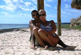 Chris and Erica Ramirez at the Excellence Riviera Maya