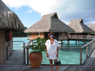 Our overwater bungalow was amazing!