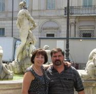 Rome with my husband and friends was so fun