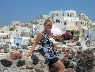Jennifer in Greece, what an amazng trip!