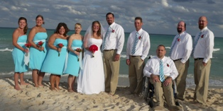 Katie and Jay's wedding at the Iberostar Lindo