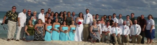 Katie and Jay's wedding at the Iberostar Lindo!