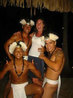 Make new friends when you are in Moorea