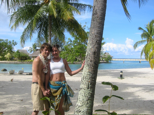 Laura and Luke Leonard loved their Tahitian Honeymoon