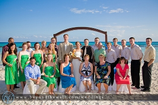 Andrea and Billy McCarthy Wedding at Sandos Caracol