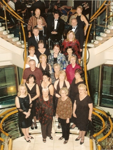 A Group of 33 cruised on RCCL in Europe