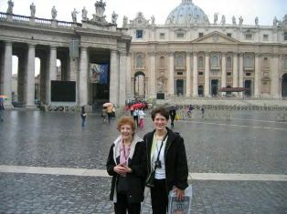 Mary Karkow and her mom have a wonderful time in Europe!