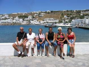 Mykonos Greece was one of my favorite ports of call on this trip!
